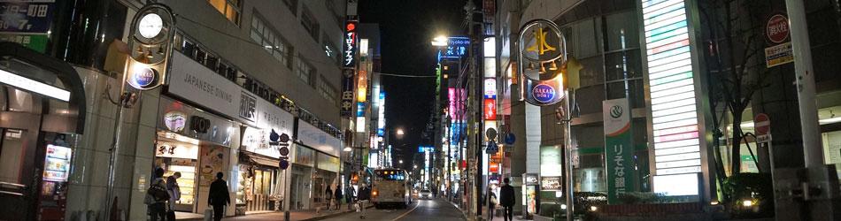 栄通り夜景
